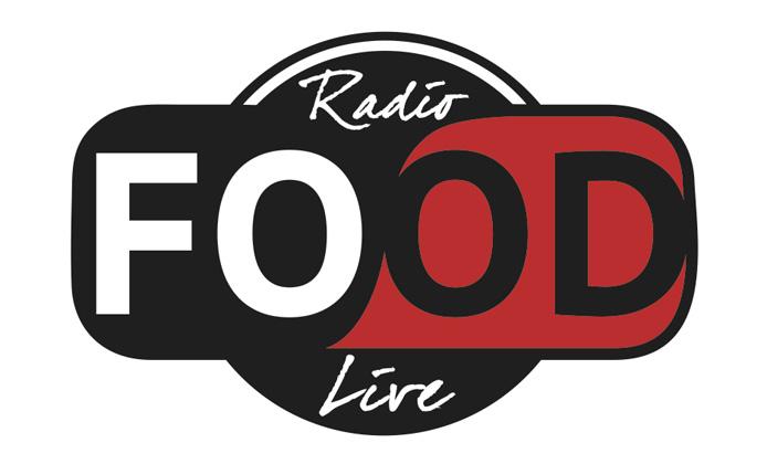 radio food live logo