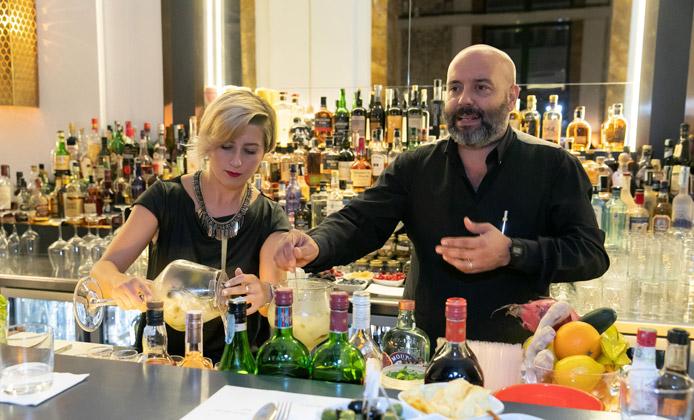 Solomiya Grytsyshyn e Massimo d'Addezio