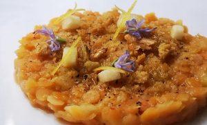 lenticchie come un risotto