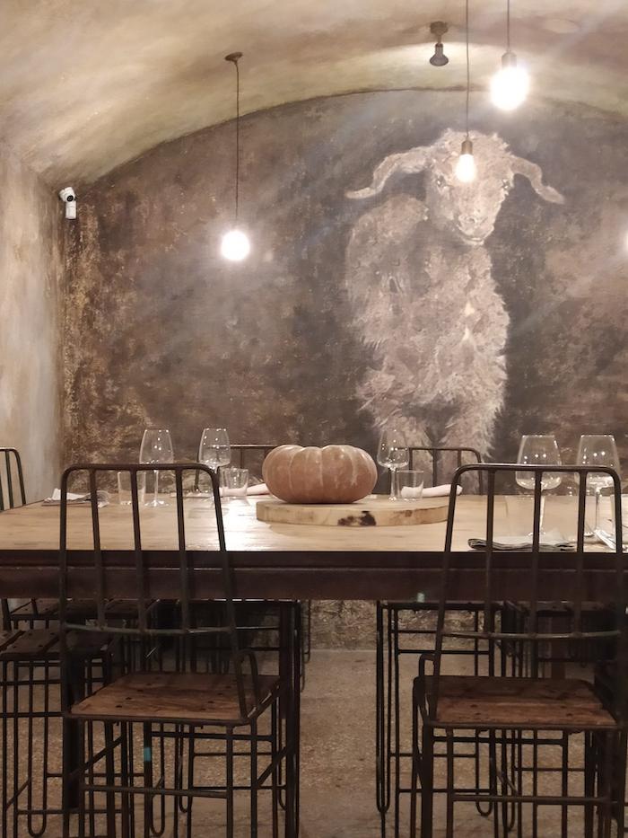 sala ristorante pastorie roma
