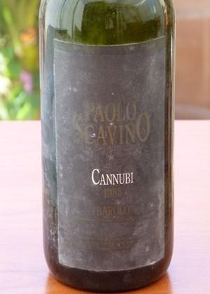 Barolo Cannubi '85 Paolo Scavino