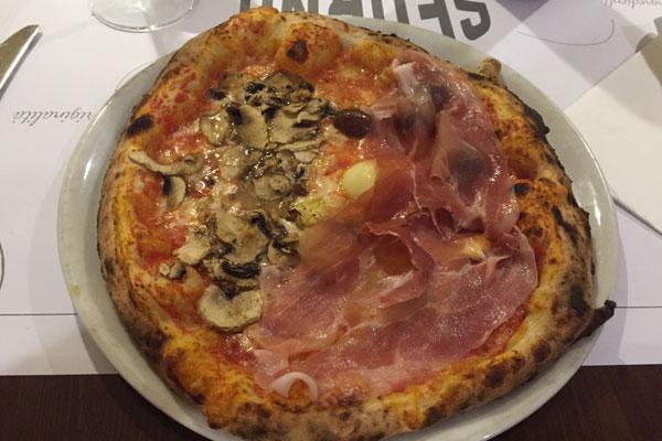 pizza capricciosa sforno