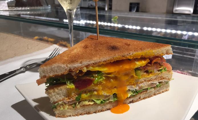 club sandwich roscioli