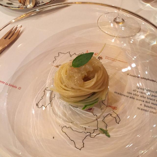 Spaghetto freddo La Siriola
