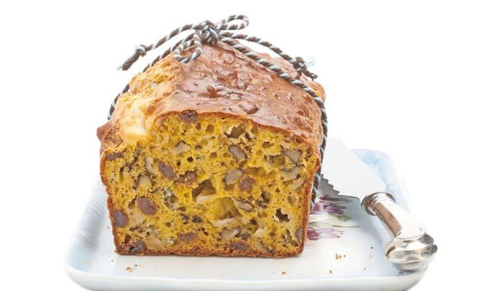 Cake noci e gorgonzola