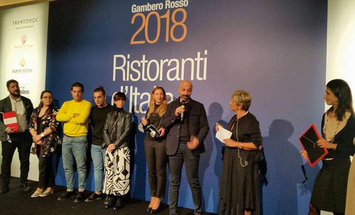 Guida Ristoranti d'Italia 2018 del Gambero Rosso