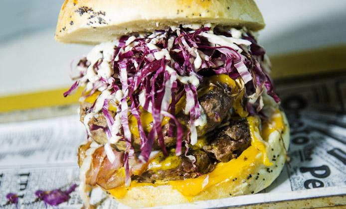 migliori hamburger di Birretta Wine & Food